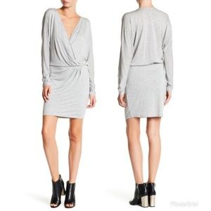 Haute Hippie Women's Long Sleeve Wrap Dress 81E